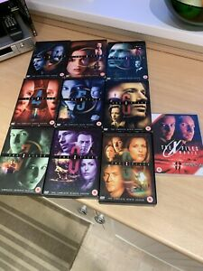 The X-Files - Series 1-9 - Complete (DVD, 2012, 55-Disc Set, Box Sets) & Movie!!