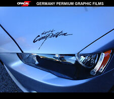 the spirit of Competition RALLIART EVO RALLY Lancer evolution JDM Car Sticker