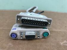 Blackbox EHN154-0001 VGA/PS2 KVM Cable 1Ft