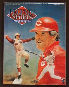 Legends Sports Memorabilia Vol.5, No.1 Jan./Feb. 1992 Pete Rose