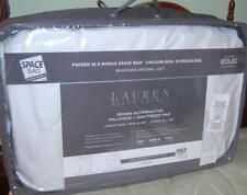 Ralph Lauren SPACE BAG Mattress Pad & Pillow Pack TWIN Down Alternative
