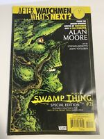 After Watchmen What's Next #21 Saga Of The Swamp Thing DC Comics
