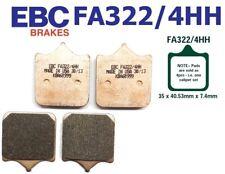 EBC PASTILLAS FRENO Fa322/4hh Eje delant. para DUCATI 999S 03-04