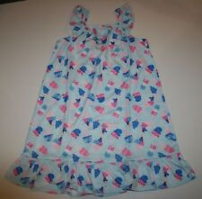 New Gymboree Gymmies Ice Cream Print Size Small 5-6 Year NWT Pajama Gown PJs