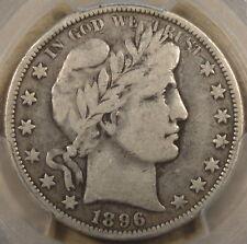 1896-O Barber Half Dollar PCGS F12