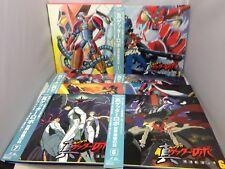 GETTER ROBO ARMAGEDDON Japan LD LaserDisc Set of 7 + BOX w/OBI Robot Anime