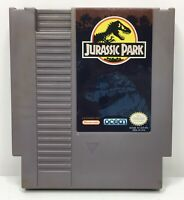 Nintendo NES Jurassic Park Video Game Cartridge *Authentic/Cleaned/Tested*