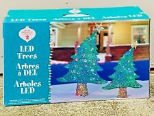 LED Tree Christmas Trees Indoor Outdoor + 120 Light Colour Changing Decoration