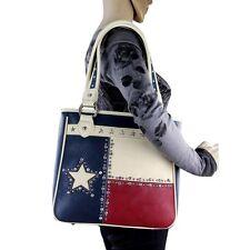 TX11G-8561 Montana West Texas Lone Star Patriotic CCW Shoulder Bag Purse Handbag
