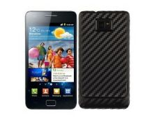 Skinomi Carbon Fiber Phone Skin+SP for Samsung Galaxy S2 International I9100