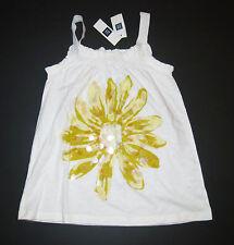 NEW Gap kid yellow sequin flower splash chasing spring cabana tank top shirt M 8