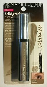 MAYBELLINE Brow Precise Volumizer Filling Brow Mascara 250 Blonde *SEALED*