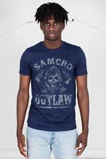 Sons Of Anarchy Outlaw oficial Unisex Camiseta Jax Teller SAMCRO Moto Reaper SOA