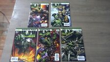 World War Hulk #1-5 (Nm) 1st Cameo App: Skaar (Sig: David Finch, Greg Pak) 2007
