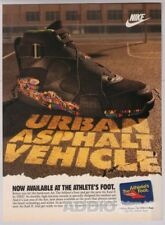 NIKE Air Raid II 2 1990s PRINT AD shoes urban Athlete's Foot advertisement 1993