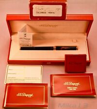ST DUPONT 1992 COLUMBUS FOUNTAIN PEN, BNIB, LIMITED # 1535/2000, FINE NIB SIZE