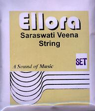 Saraswati Veena Complete Strings set Ellora Professional Bronze Quality