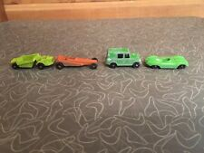 Vintage Diecast Metal Toy Car Mixed Lot of 4