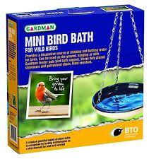 Gardman Ceramic Stoneware Wild Birds Mini Hanging Bird Bath A01124