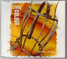 LIVING COLOUR Leave It Alone EURO 4 TRACK CD with LIVE