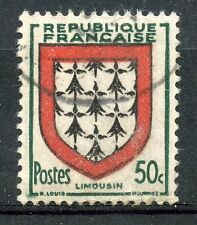 TIMBRE de FRANCE OBLITERE N° 900 BLASON LIMOUSIN / Photo non contractuelle