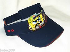 NEW SPONGE BOB SQUAREPANTS  SUN VISOR CAP  WITH   ADJUSTMENT