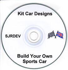 KIT CAR piani e risorse-creare la propria auto sportiva LOTUS Locost Caterham L @ @ K