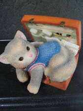 Calico Kittens 1994 A Hug-A-Day Packs Your Troubles Away Mib #488658