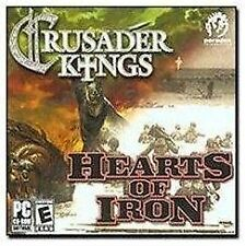 Crusader Kings/Hearts of Iron Jewel Case - PC