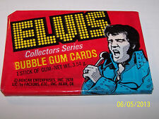 1978 Donruss Elvis Collectors Series Bubble Gum Cards Unopened Pack