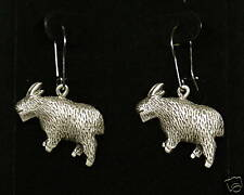 Pewter Mountain Goat Dangle Earrings by Empire Pewter