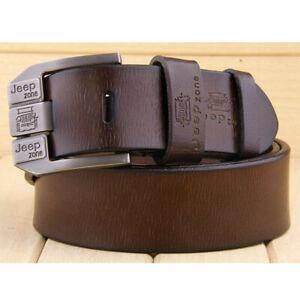Echt Leder Gürtel Herren Büffelleder Jeansgürtel Vintage Ledergürtel Gürtel