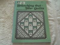 """""""Branching Out Tree Quilts"""" by Carolann Palmer,  Quilting Patterns, Softcover"""