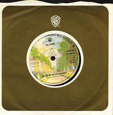"GLYDER in love with cherry/make believe K 16848 uk warner 1976 7"" CS VG/EX"