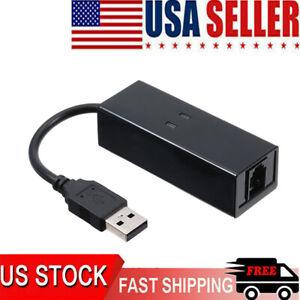 USB 56K External Dial Up Voice Fax Data Modem Windows 10 / 8 / 7/ XP /Vista A5R4