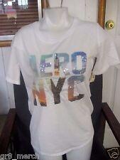 Aeropostale Womens NY 87 Graphic t shirt, Medium, New w/Tags, Retail $30