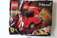 LEGO Racers: Scuderia Ferrari Truck Set 30191. Small polybag set.