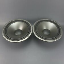 "Pair Genuine AR 12"" Woofers 4 ohm Acoustic Research from SRT 330 Studio Speakers"