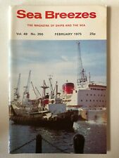 Sea Breezes Magazine Feb 1975 v49n350