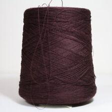 100% Wolle Garn dunkel Rot Kirsch Stricken Kone 850 Gramm  /200