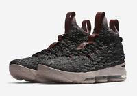 Nike LeBron 15 Kinder Jungen Sneaker 922811-003 Schwarz Schuhe Neu Gr.35,5