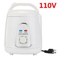 110V 1.8L Steam Home Generator Steamer Pot Spa For Portable Steam Saunas