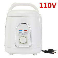 110V 1.8L Steam Home Generator Steamer Pot Spa For Portable Steam Saunas