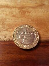 2016 Shakespeare Hollow Crown & Dagger £2 Coin