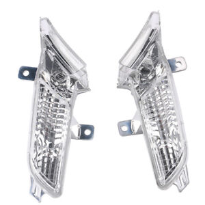Pair Right+Left Front Side Marker Light Clear For Porsche Cayenne 2008