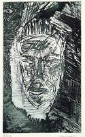 DDR-Kunst/Nachwendezeit. Aquatinta Ullrich PANNDORF (*1954 D), handsigniert