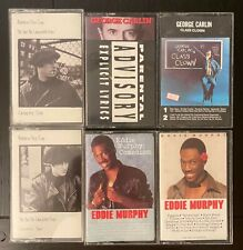Comedy Vintage Cassettes Lot of 6, Carlin Murphy Dice Clay, All Tested, Playable
