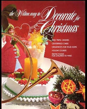 Wilton Way to Decorate for Christmas Book -