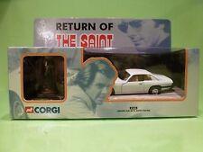 CORGI 57404 - JAGUAR XJS  + SAINT FICTURE - RETURN OF THE SAINT 70's TV - GCIB