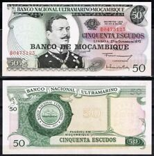 Mozambique 50 Escudos, 1970, P-116, João de Azevedo Coutinho, Unc World Currency